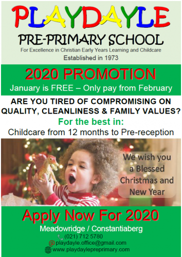 Playdayle Pre-school and Educare